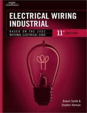 Cover of: Electrical Wiring Industrial