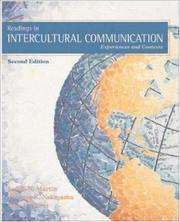 Cover of: Readings in Intercultural Communication: Experiences and Contexts