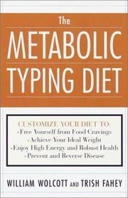 Cover of: The Metabolic Typing Diet