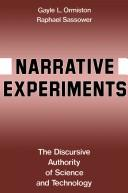 Cover of: Narrative Experiments