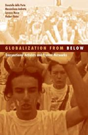 Cover of: Globalization From Below
