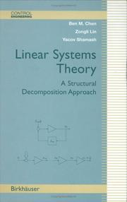 Cover of: Linear Systems Theory