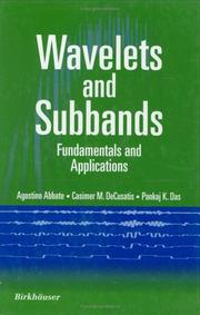 Cover of: Wavelets and Subband