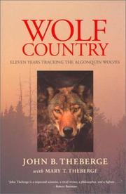 Cover of: Wolf Country
