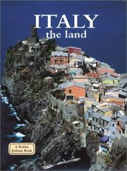 Cover of: Italy - the Land (Lands, Peoples, and Cultures)