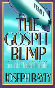 Cover of: The Gospel Blimp and Other Modern Parables