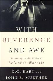 Cover of: With Reverence and Awe