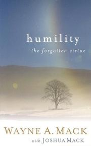 Cover of: Humility