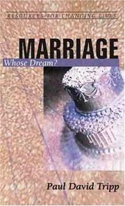 Cover of: Marriage: Whose Dreams (Resources for Changing Lives) (Resources for Changing Lives)