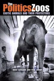 Cover of: The Politics of Zoos