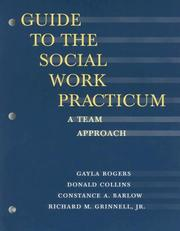 Cover of: Guide to the Social Work Practicum