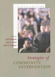 Cover of: Strategies of Community Intervention