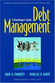 Cover of: Debt Management