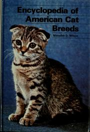 Cover of: Encyclopedia of American Cat Breeds