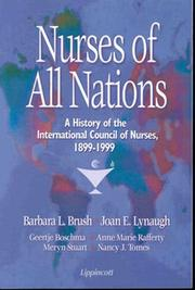 Cover of: Nurses of All Nations