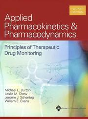 Cover of: Applied Pharmacokinetics and Pharmacodynamics