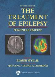 Cover of: The Treatment of Epilepsy