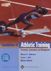 Cover of: The Foundations of Athletic Training