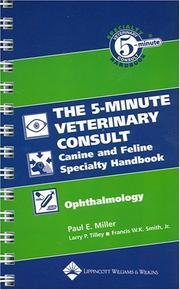 Cover of: The 5-Minute Veterinary Consult Canine and Feline Specialty Handbook