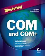 Cover of: Mastering COM and COM+