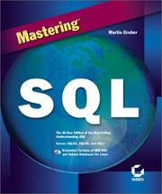 Cover of: Mastering SQL