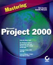 Cover of: Mastering Microsoft Project 2000 (Mastering)