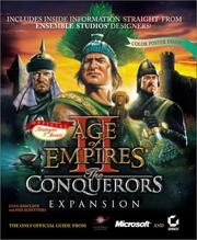 Cover of: Age of Empires II: The Conquerors Expansion