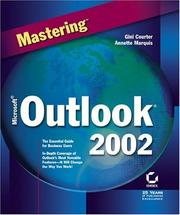 Cover of: Mastering Microsoft Outlook 2002