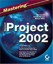 Cover of: Mastering Microsoft Project 2002 (Mastering)