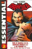 Cover of: Essential Tomb of Dracula, Vol. 3 (Marvel Essentials)