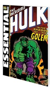 Cover of: Essential Incredible Hulk, Vol. 3 (Marvel Essentials)