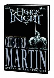 Cover of: Hedge Knight, Vol. 1