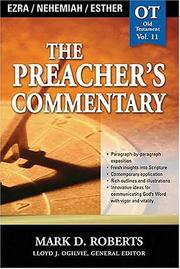 Cover of: The Preacher's Commentary - Vol. 11 - Ezra, Nehemiah, Esther