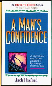 Cover of: Man's Confidence (Power to Become)