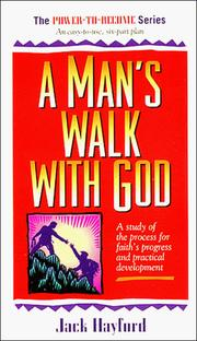 Cover of: Man's Walk with God (Power to Become)
