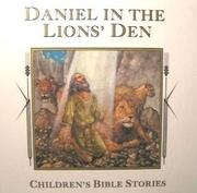 Cover of: Daniel in the lions' den
