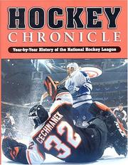 Cover of: Hockey Chronicle (2003 Edition)