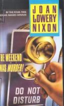 Cover of: The Weekend Was Murder (Dell Natural Medicine Library)