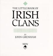 Cover of: The Little Book of Irish Clans