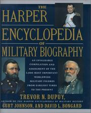 Cover of: The Harper Encyclopedia of Military Biography