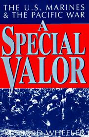 Cover of: A Special Valor