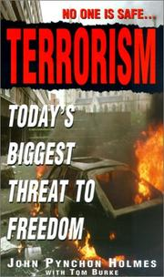 Cover of: Terrorism