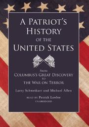 Cover of: A Patriot's History of the United States