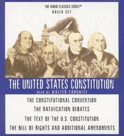 Cover of: The United States Constitution Box Set