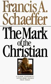 Cover of: The mark of the Christian