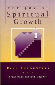 Cover of: The Joy of Spiritual Growth