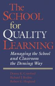 Cover of: The School for Quality Learning