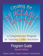 Cover of: Creating the Peaceable School: Program Guide
