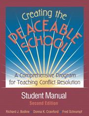 Cover of: Creating the Peaceable School
