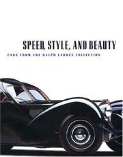 Cover of: Speed, Style, And Beauty